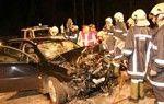 Vier Schwerverletzte bei Kollision zweier Autos im Bregenzerwald