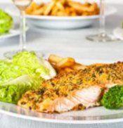 Das Rezept des Tages: Fisch mit Mandelkruste