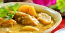 Putenbrust in Currysahne