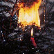 Evakuierung aufgrund von brennendem Christbaum in Bludenz