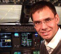 Mit Markus Wallner im Flugzeug