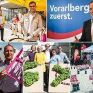 Vorarlberg-Wahl: Letztes Buhlen um Wählerstimmen