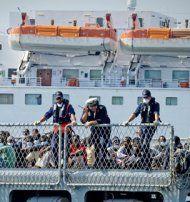 Rund 4.000 Flüchtlinge vor Süditalien gerettet