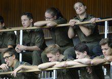 Schüler kämpfen für Militärgymnasium