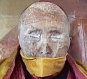 Lebendiger Leichnam von 162-jährigem Mönch