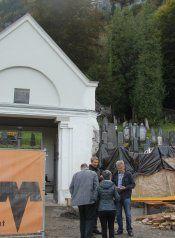 Sanierung des jüdischen Friedhofs voll im Gange