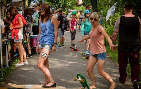 """Trend: Longboarden ist auch im Ländle zunehmend """"weiblich"""""""