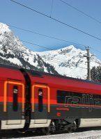 Arlbergbahnstrecke wegen Schneefall derzeit gesperrt