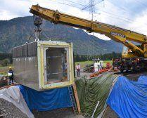 Millimeterarbeit bei Umbau von Bahnhof
