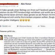 Türkischstämmige Grünen-Politikerin Alev Korun stellt FPÖ-Anhänger bloß
