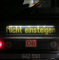 Bahnstreiks kosteten deutsche Wirtschaft bisher 500 Mio. Euro