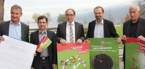 """""""Damit s'Ländle sub'r bliebt"""" – Kampagne gegen Vermüllung"""