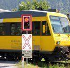 Lkw riss in Bludenz Bahn-Oberleitung ab