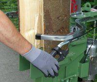 Sicherheitsrisiko beim Holzspalten minimieren