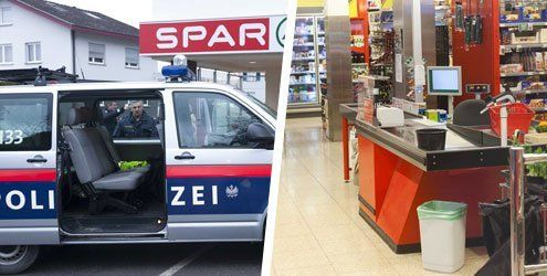 Räuber attackierte Kassierin in Dornbirner Spar mit Pfefferspray