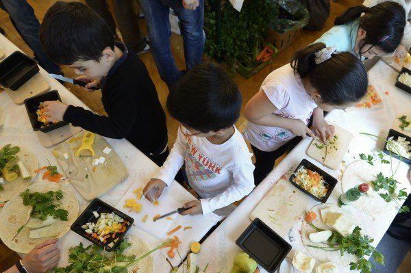 Jamie Oliver kämpft gegen Fettleibigkeit bei Kindern