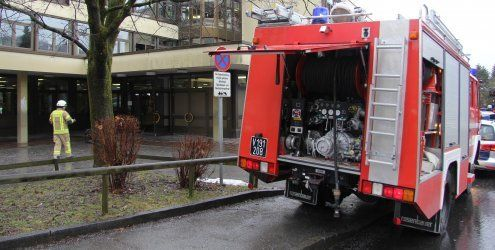 Brandstiftung: 340 Schüler aus Dornbirner Musikschule evakuiert