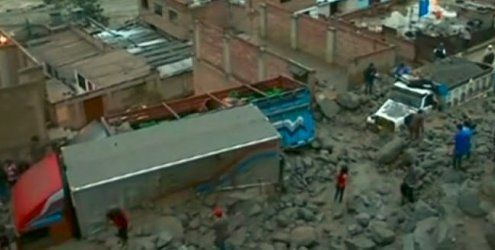 Peru: Sieben Menschen sterben unter Schlammlawinen in Lima