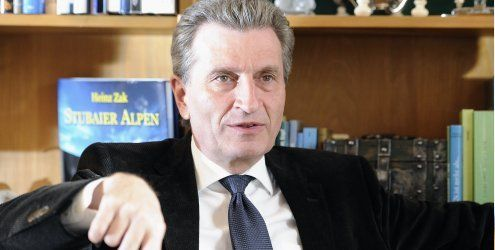 EU-Kommissar Oettinger: Google muss sich an die Regeln halten