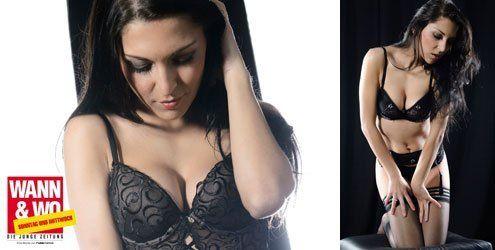 Sexy Dessous-Shooting mit Amela