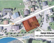 Hotelbau in Klösterle auf der Zielgeraden