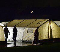 Asyl-Zelte über Pfingsten nur knapp ausreichend