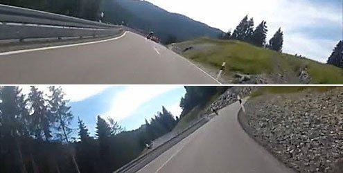 """Scharfe Kurven gesucht – """"Biker ohne Plan"""" findet Riedbergpass"""
