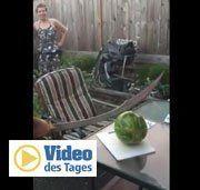 So sollten Sie eine Melone niemals zerschneiden