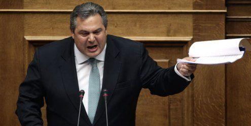 """Hellas-Minister mit Kriegsrhetorik - Dijsselbloem offen für """"Grexit"""""""