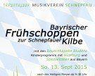 Schnepfauer Kilbe mit bayrischem Frühschoppen