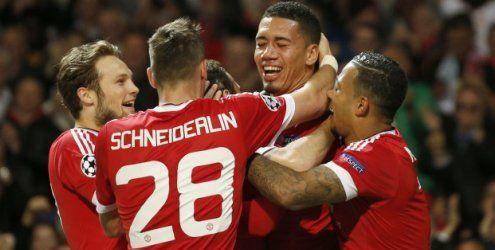 Die Engländer können noch siegen: United und City besiegen Wolfsburg und Gladbach