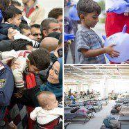 Asylkrise: Österreich sichert eigene Grenzen -  EU-Sonderrat einigt sich auf Verteilung von 40.000 Flüchtlingen