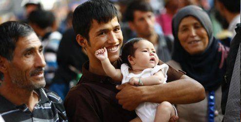 Hunderte Migranten aus Ungarn sind in München angekommen