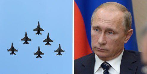"""""""Präventivschlag"""": Russland greift militärisch in Syrien ein"""