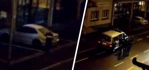 Video: Hier schnappt die Polizeieinen Einbrecher in Feldkirch!