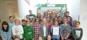 Adventaktion an der Mittelschule Großes Walsertal