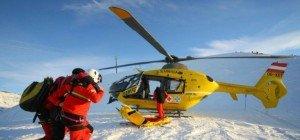 Skifahrerin erleidet Unterschenkelbruch – Helikoptereinsatz