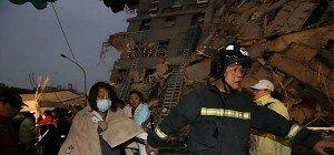 Mindestens 15 Tote bei Beben in Taiwan