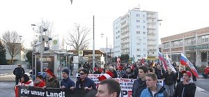 Friedliche Pegida-Kundgebung und Gegen-Demos in Graz