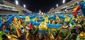 Parade der Sambaschulen in Rio geht in die Endrunde