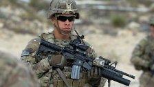 USA schicken Hunderte GIs nach Afghanistan