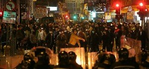 Aufstand auf Hongkongs Straßen wegen Imbissständen