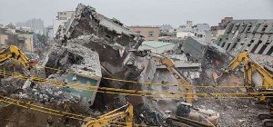 Zahl der Toten nach Erdbeben in Taiwan stieg auf 43