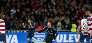 Real Madrid nach knappem Sieg in Granada weiter Dritter