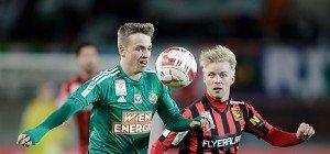 Rapid nach 0:1-Heimniederlage gegen Admira im Cup out