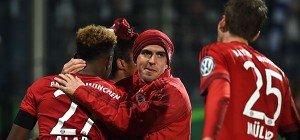 Bayern und Hertha BSC im deutschen Cup-Halbfinale