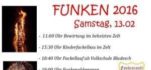 Funkenabbrennen in Bludesch