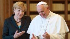Angela Merkel rief Papst Franziskus verärgert an