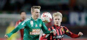 Rapid scheidet nach 0:1-Niederlage gegen Admira aus dem Cup aus