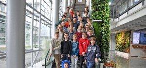 Mittelschule Rankweil West zu Besuch bei Russmedia